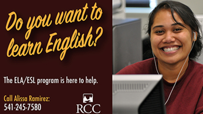 learn english at RCC