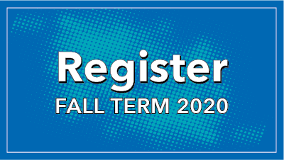 Registration for fall term