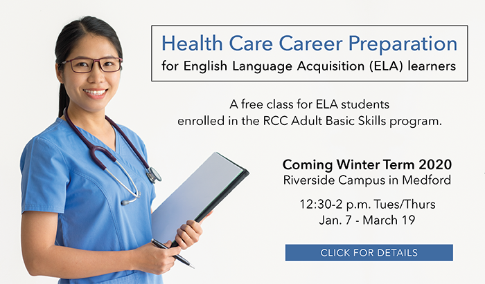 learn the english necessary to get a career in health care